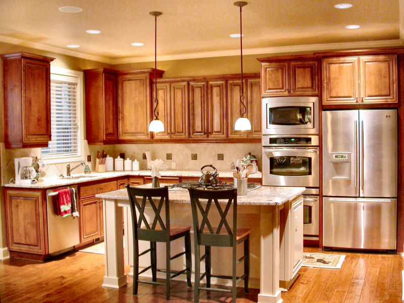 Cherry Kitchen Cabinets - Custom Cabinets Wholesale